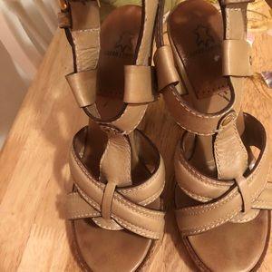 Chloe strappy heels